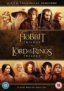 MIDDLE EARTH COLLECTION - THE HOBBIT TRILOGY TRILOGY / THE LORD OF [UK] NEW DVD