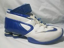07ae82f0bd7c1f Nike Shox Elite 316685-142 Basketball High Top Shoe Sneaker Blue White Women  8 M