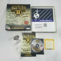 Empire II 2 The Art Of War PC CD-ROM Game New Sealed White Wolf Productions 1996