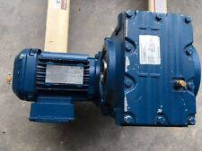 Sew-Eurodrive Motor Gearbox saf47drs71m4 .75 hp