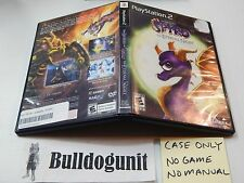 Legend of Spyro The Eternal Playstation 2 PS2 Case Manual ONLY NO GAME or MANUAL