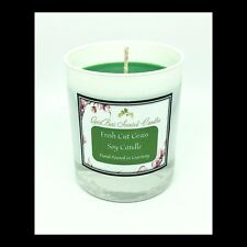 Fresh Cut Grass Scented Soy Candle - GeriBeri Scented Candles