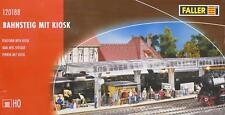 Faller 120188 H0 - Bahnsteig mit Kiosk  NEU & OvP