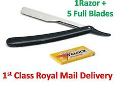 BARBER SALON STRAIGHT CUT THROAT SHAVING RAZOR SHAVETTE RASOIRS + 1Pack BLADES