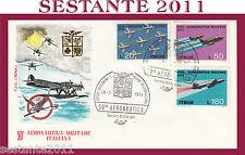 ITALIA FDC ROMA 1973 AERONAUTICA MILITARE ITALIANA ANNULLO SPECIALE G420