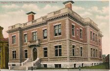 Registry of Deeds and Probate Court Taunton MA Postcard
