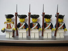 Lego PIRATES NAPOLEONIC WARS PRUSSIAN Infantry Soldiers MINIFIGS