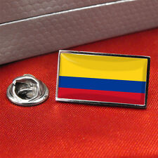 Colombia Flag Lapel Pin Badge / Tie Pin