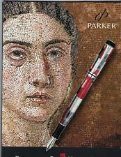 """Vintage Parker Duofold Mosaic 8"""" X 12"""" Easel Back Counter Display-1990's"""
