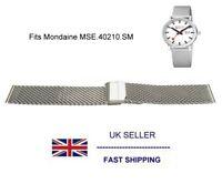Mesh Watch Bracelet Fits Mondaine MSE.40210.SM Swiss Railway Watch