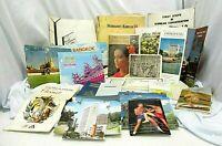 Korea Thailand Hong Kong Taiwan 1960's-70's Postcards Books Maps Brochures Lot