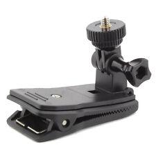 Hat Brim Clip Backpack Strap Mount 360 Degree Rotation for Hetai Nautilus Camera