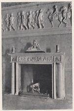 D2898 Tremezzina - Villa Carlotta - Un camino - Stampa d'epoca - 1922 print