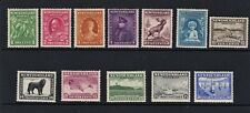 NEWFOUNDLAND 1932 SET OF 12  SG.209/20  MOUNTED MINT