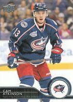 2014-15 Upper Deck Hockey #301 Cam Atkinson Columbus Blue Jackets
