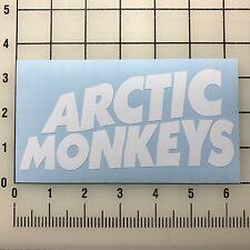 "Artic Monkeys 6"" Wide White Vinyl Decal Sticker - BOGO"