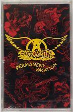AEROSMITH: Permanent Vacation SEALED USA Geffen Cassette Tape Rare