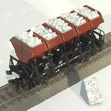 043 H0 Ladegut für Märklin Muldenkippwagen 46355, 4635, 46353, Lahnsplitt, OVP