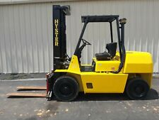 Hyster 8k Outdoor Forklift Withtwo Stage Mast And Side Shift
