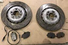 BMW F10 M5 & F06 F12 F13 M6 V8 Rear Brake Discs Pads