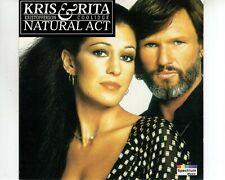 CD KRiS KRISTOFERSON & RITA COOLIDGEnatural actCANADA EX+ (A3724)
