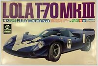 1969 Lola T-70 MkIII MOTORIZED Tamiya Model Car Vintage Sealed Parts Unassembled