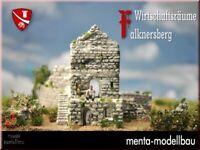 Wirtschaftsgebäude, Falknersberg, Bausatz Spur N / Z Modelleisenbahn menbrf010