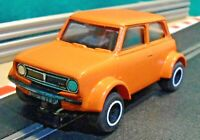 Scalextric 1:32 C122 1976 British Leyland Orange Mini 1275GT Rally (RESTORED)