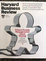 Harvard Business Review Magazine HBR Lot 1 Business Management 2020 Sept October