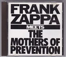 Frank tsappa-Meets the Mothers of prevention-CD ryko 1986 Japon/no code barres