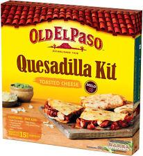 OLD EL PASO TOASTED CHEESE QUESADILLA KIT 505G