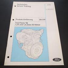 Technische Information Ford Fiesta ab´96 1,25L & 1,4L Zetec SE Motor Stand 1995