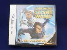 NDS Star Wars: The Clone Wars -- Jedi Alliance. Nintendo DS, 2008. DS, DSi,