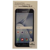 Verizon Tempered Glass Screen Protector for Samsung Galaxy J3 V (2016) - Clear