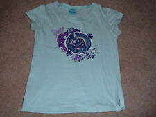 Girls - Trespass brand T shirt - with lovely logo - lime green - size S - must s