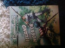 Commando ISLAND OF HORROR No1180 1977 9pC/P War Story Picture Comic Book