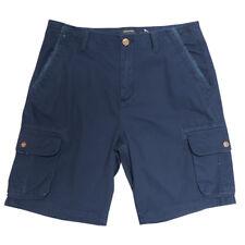 Quik Silver Men's Dark Navy Measure Cargo Shorts (Retail: $52.00)