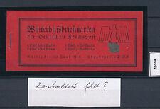 15594) Unikat: DR MH 44 mit fehlendem Zwischenblatt ** + gepr. BPP (n. sign.) !!