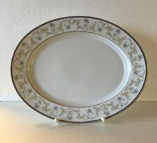 "Königlich Tettau Porzellan Platte oval 32 cm, Form Opal, Dekor Ballade ""NEUWARE"""