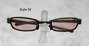 1/3 1/4 BJD SD 60cm 45 sun glasses sunglasses Dollfie Brown tint lens Style 36
