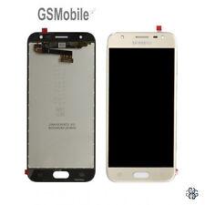 Display Pantalla LCD tactil Samsung Galaxy J3 2017 J330 J330F Dorado Original