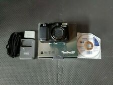 Canon Powershot G11 10MP Camera 5x Flip Screen In Box W/ Extras Tested Free Ship