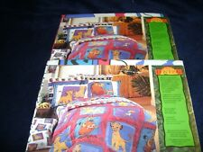 NEW Disney's LION KING Pillow Sham  Nala & Simba VINTAGE Pattern