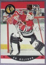 1990-91 Pro Set #598 Ed Belfour Chicago Blackhawks RC
