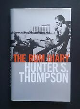 Hunter S Thompson The Rum Diary Hardcover First UK Edition SIGNED BOOKPLATE Rare