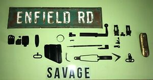 Savage Lee Enfield No4 Rifle - Savage Marked Components - Mix and Match