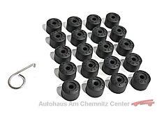 NEU Original VW Radschraubenkappen Set 20 Stück Volkswagen Schlüsselweite 17