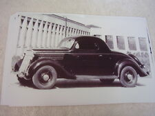 1935 FORD 3 WINDOW COUPE  11 X 17  PHOTO /  PICTURE