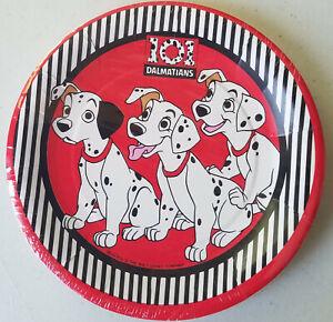 Vintage Disney 101 Dalmatians 8 Pack Dessert Plates