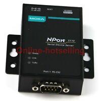 Moxa NPORT5110 Serial Device Server Hlp-A RS-232 Port Server RJ45 Ethernet tg